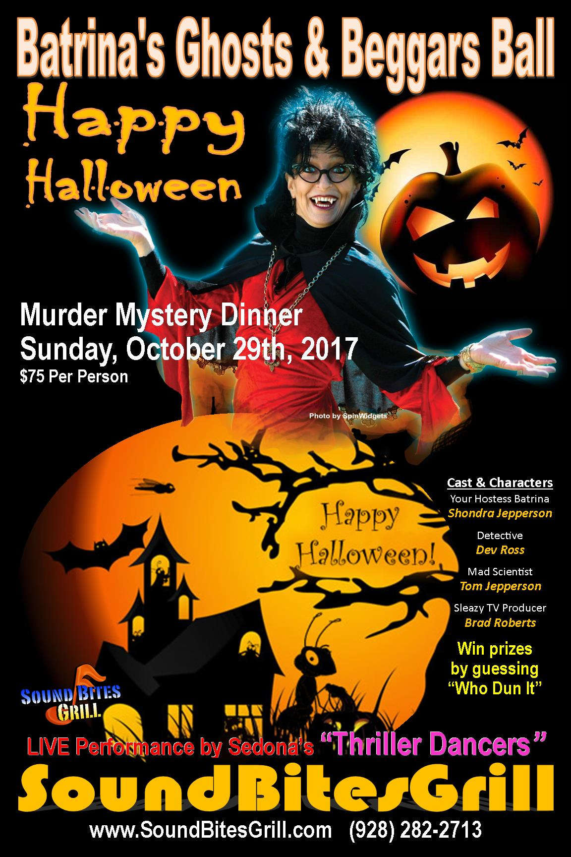 Batrina's Ghosts & Beggars Ball - Oct 29, 2017