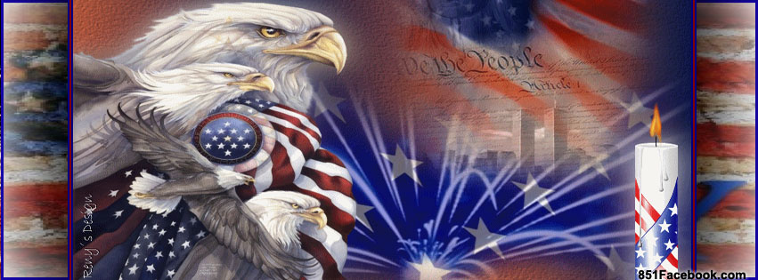 4th Of July The Best Free Top Tumblr Festive Fourth Of July Facebook  Timeline Cover Photo We The People Bald Eagle Independence For Fb Profile